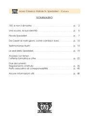 Scarica il POF 2011 - 2012 in formato pdf - Liceo Classico