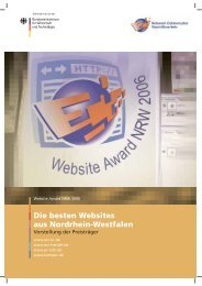 Die besten Websites aus  Nordrhein-Westfalen - Langer Werbung