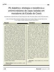 Pé diabético: etiologia e resistência a antimicrobianos ... - NewsLab