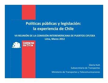 Políticas públicas y legislación: la experiencia de Chile