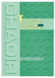 The Sermon of Prophet Muhammad (PBUH&HF) at Ghadir ... - Tabligh