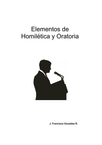 Elementos de Homilética y Oratoria - sisman