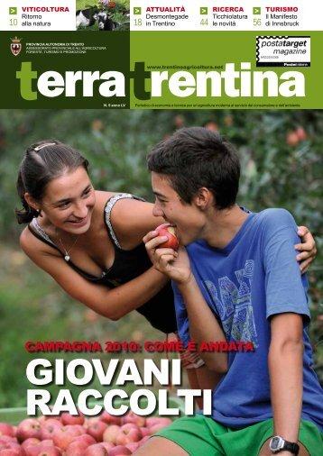 Terra Trentina - Provincia autonoma di Trento - Ufficio Stampa