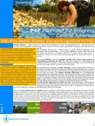 P4P Purchase for Progress Central America - ReliefWeb