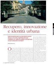 Recupero, innovazione e identità urbana - Oice