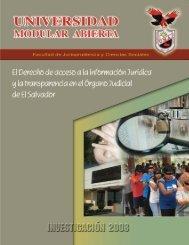 Jurisprudencia y Ciencias Sociales - Universidad Modular Abierta