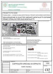 [pdf] Microsoft Word - 2862 - Capitolato tecnico - Policlinico S.Orsola ...