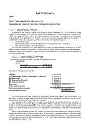 7 Capitolato Speciale - parte tecnica.pdf - Comune di Oristano