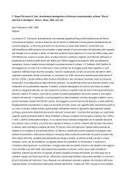 F. Segni Pulvirenti-A. Sari, Architettura ... - Sardegna Cultura