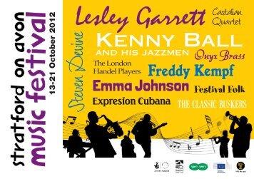 Lesley Garrett - Stratford On Avon Music Festival
