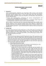 Daftar 39 : D39. Laporan Pertanggungjawaban Pengelolaan SUN