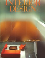 Interior Design - Clodagh