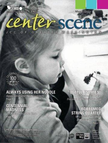 March 2013 - Jewish Community Center of Greater Washington
