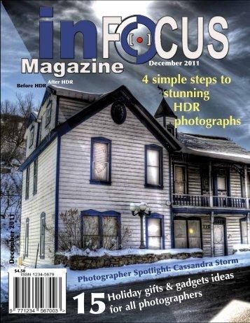 InFocusMagazine_Portfolio - Get a Free Blog