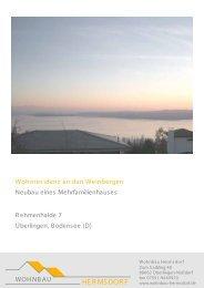 Wohnung 1 - Wohnbau Hermsdorf