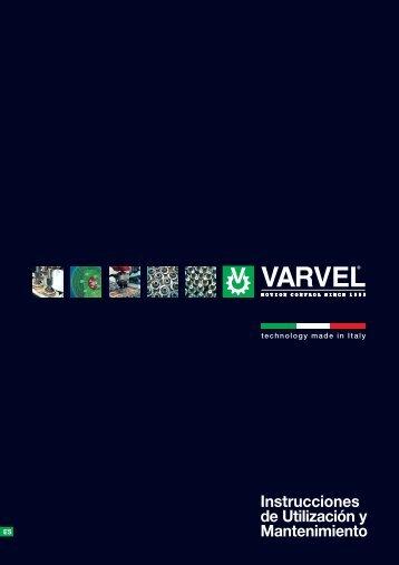 Instrucciones de Utilización y Mantenimiento - Varvel SpA