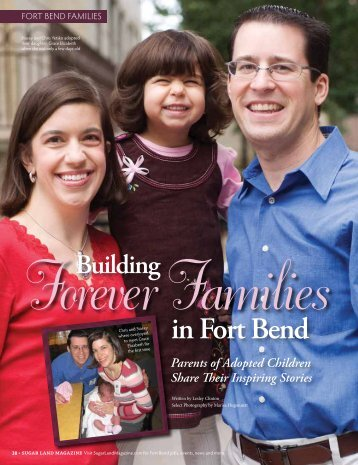Building Forever Families in Fort Bend - Sugar Land Magazine