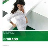 GRASS ÖPPNINGSSYSTEM