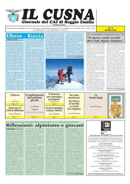 Elbrus Russia Cai Sezione Di Reggio Emilia