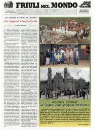 «Fieste dal popul furlan» - Ente Friuli nel Mondo