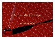 Scarica documento PDF - Ennio Martignago ....tracce d'autore