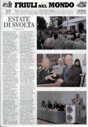 ESTATE DI SVOLTA - Ente Friuli nel Mondo