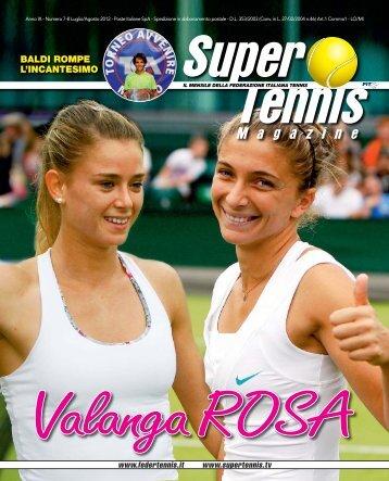 BALDI ROMPE L'INCANTESIMO - Federazione Italiana Tennis