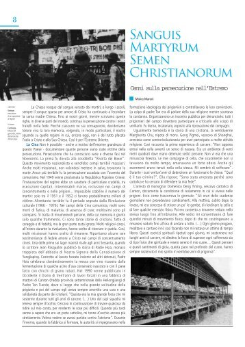 Sanguis Martyrum Semen Christianorum - FidesVita.org