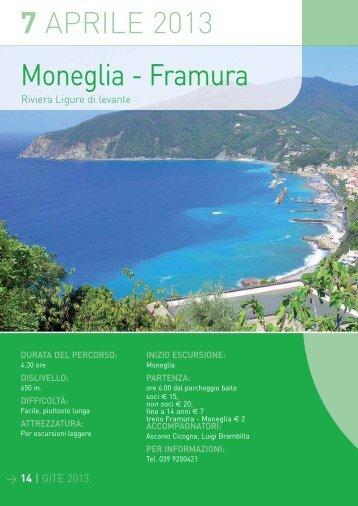 7 APRILE 2013 Moneglia - Framura