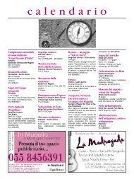 calendar of events - in Mugello
