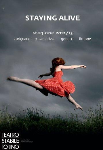 staying alive - Teatro Stabile di Torino