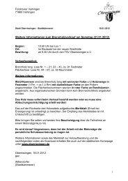 Landratsamt Ludwigsburg Fachbereich Forsten - Stadt Oberriexingen