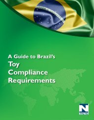 Toy Compliance Requirements - NIST Global Standards Information ...