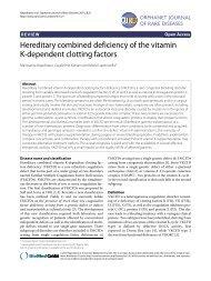PDF - Orphanet Journal of Rare Diseases