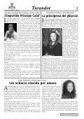 TURANDOT TURANDOT - Il giornale dei Grandi Eventi - Page 5