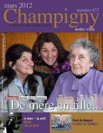 mars 2012 - Mairie de Champigny sur Marne
