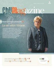 La vie selon Viviane - Centre hospitalier de l'Université de Montréal