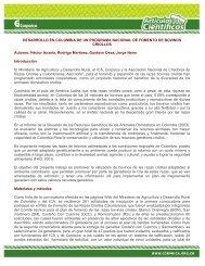 DESARROLLO EN COLOMBIA DE UN PROGRAMA ... - Corpoica