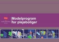 Modelprogram for plejeboliger - Erhvervsstyrelsen