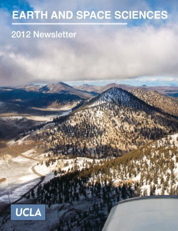 2012 Alumni Newsletter (PDF) - Department of Earth and Space ...