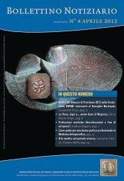 Aprile 2012 - Ordine dei Medici di Bologna