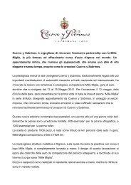 Penne Cuervo y Sobrinos e Mille Miglia 2011_REVIEW 2