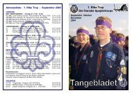 Hent Tangebladet september 2004 - Det Danske Spejderkorps