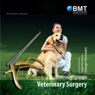 Veterinary Surgery - BMT Surgical Instruments