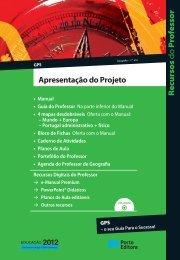 Apresentação do Projeto GPS - Porto Editora