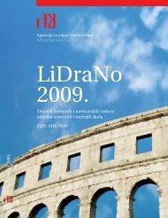 LiDraNo 2009. - Agencija za odgoj i obrazovanje