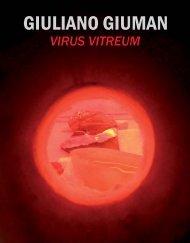 Catalogo della mostra Virus Vitreum - Giuliano Giuman