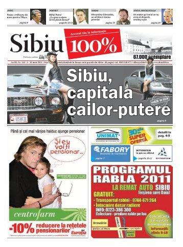 publicitate - Sibiu 100