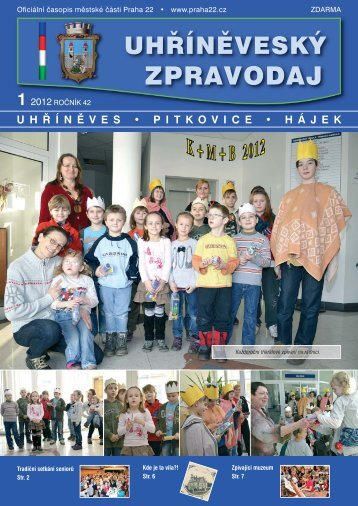 Každoroční tříkrálové zpívání na radnici - Uhříněveský zpravodaj