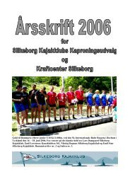 Årsskrift Kap 2006 læs tryk her - Silkeborg Kajakklub